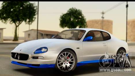 Maserati Gransport 2006 for GTA San Andreas upper view