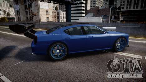 Bravado Buffalo Street Tuner for GTA 4 left view
