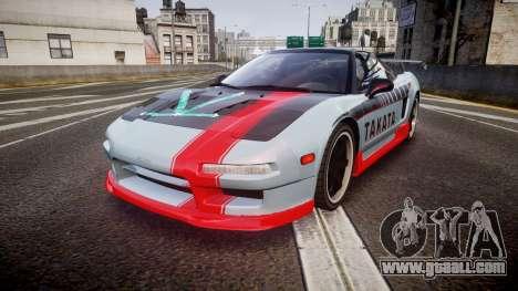 Honda NSX 1998 [EPM] takata for GTA 4