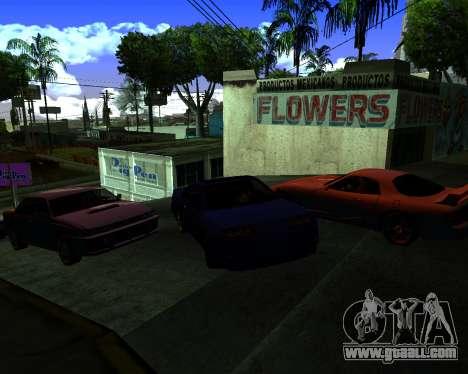 Warm California ENB for GTA San Andreas third screenshot