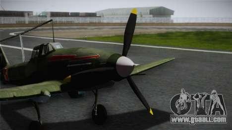 ИЛ-10 Polish Navy for GTA San Andreas back view