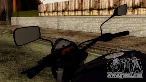 Kawasaki ER-6N 2010 for GTA San Andreas right view
