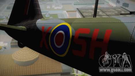 ИЛ-10 Russian Air Force for GTA San Andreas back view
