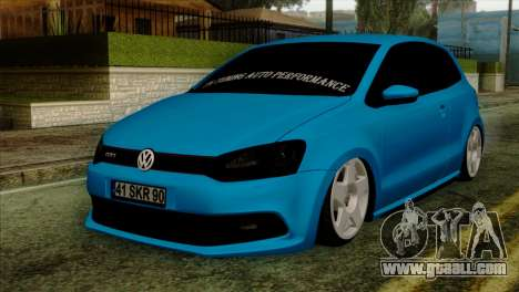 Volkswagen Polo GTI 2014 for GTA San Andreas
