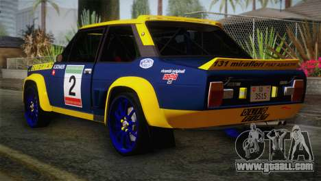 Fiat Abarth Sport Edition for GTA San Andreas left view
