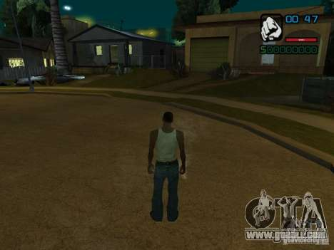 CLEO HP in numbers for GTA San Andreas second screenshot