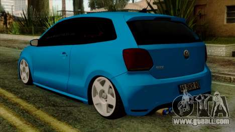 Volkswagen Polo GTI 2014 for GTA San Andreas left view