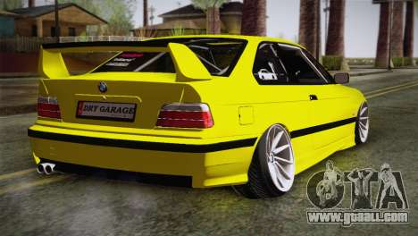 BMW M3 E36 DRY Garage for GTA San Andreas