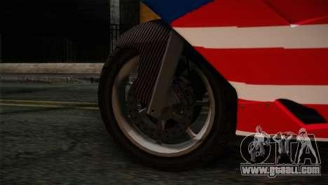 GTA 5 Bati American for GTA San Andreas back left view
