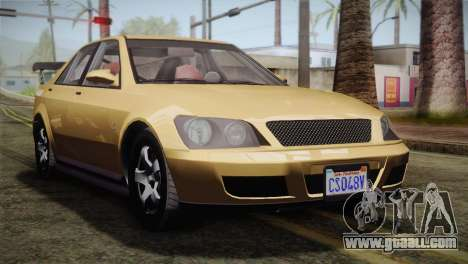 GTA 5 Karin Sultan for GTA San Andreas