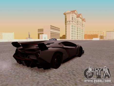 Lamborghini Veneno for GTA San Andreas right view