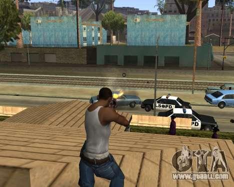 M4A1-S Syrex CS:GO for GTA San Andreas forth screenshot