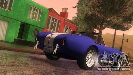 Vanilla ENB Series for GTA San Andreas