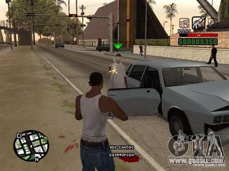 CLEO HP in numbers for GTA San Andreas third screenshot