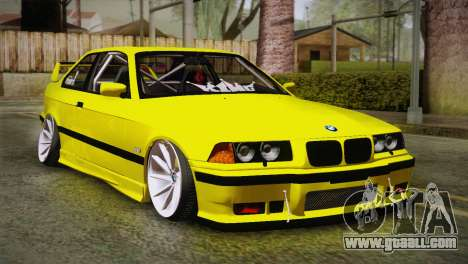 BMW M3 E36 DRY Garage for GTA San Andreas