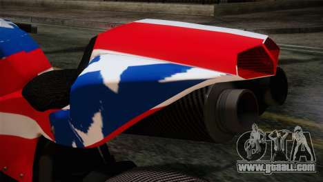 GTA 5 Bati American for GTA San Andreas back view