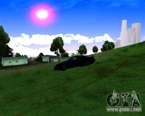 Warm California ENB for GTA San Andreas fifth screenshot