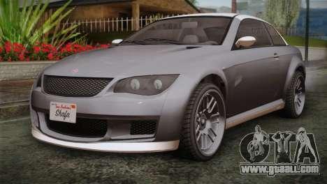 GTA 5 Sentinel for GTA San Andreas