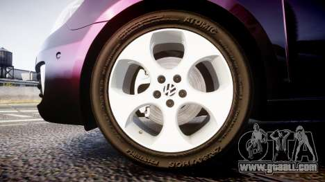 Volkswagen Golf Mk6 GTI rims1 for GTA 4
