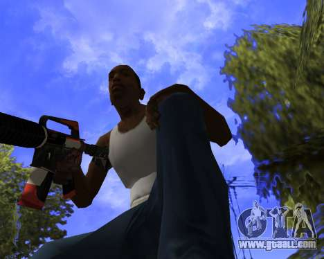 M4A1-S Syrex CS:GO for GTA San Andreas fifth screenshot