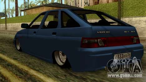 ВАЗ 2112 Happy Drop Friends for GTA San Andreas left view