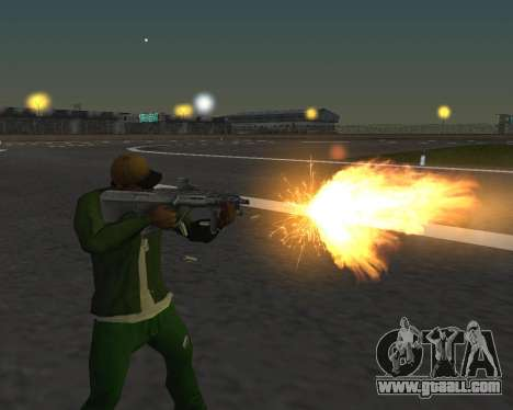 Beautiful shots from weapons for GTA San Andreas third screenshot