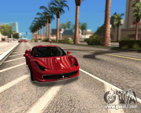WTFresh ENB for GTA San Andreas