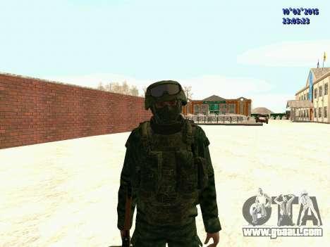 Spetsnaz MVD for GTA San Andreas