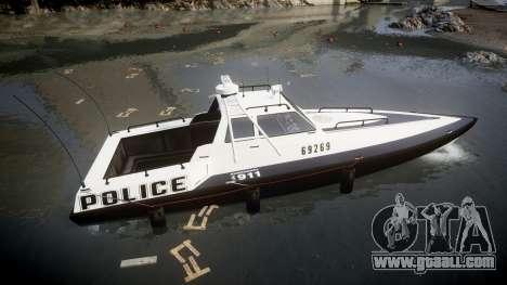 GTA V Police Predator [Fixed] for GTA 4 left view