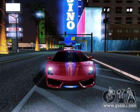 ENB plus for GTA San Andreas second screenshot