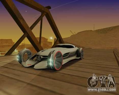 Mercedes-Benz Silver Arrows for GTA San Andreas