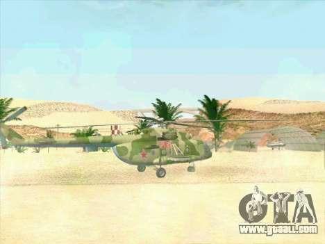 Mi-8 for GTA San Andreas right view