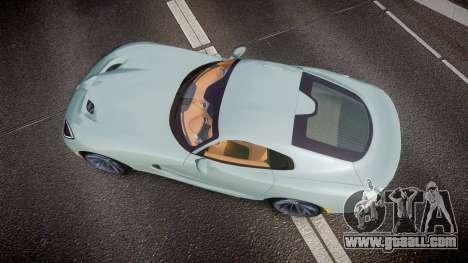 Dodge Viper SRT 2013 rims3 for GTA 4 right view
