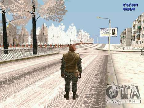 The special forces of the USSR CoD Black Ops for GTA San Andreas third screenshot