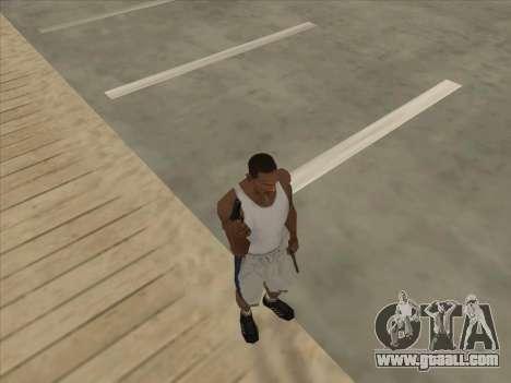 Russian submachine guns for GTA San Andreas eighth screenshot