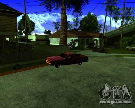Warm California ENB for GTA San Andreas