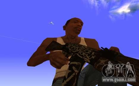 AK-47 Desert rebel CS:GO for GTA San Andreas
