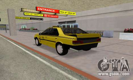 Peugeot 405 Roa Taxi for GTA San Andreas
