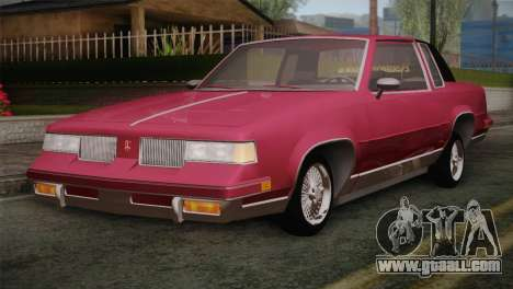 Oldsmobile Cutlass 1987 v2.2 for GTA San Andreas