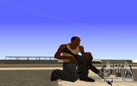 AK-47 Desert rebel CS:GO for GTA San Andreas second screenshot
