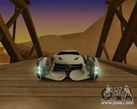 Mercedes-Benz Silver Arrows for GTA San Andreas left view