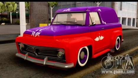 EFLC TLaD Vapid Slamvan SA Mobile for GTA San Andreas