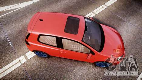 Volkswagen Golf Mk6 GTI rims3 for GTA 4 right view