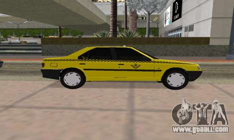 Peugeot 405 Roa Taxi for GTA San Andreas back left view