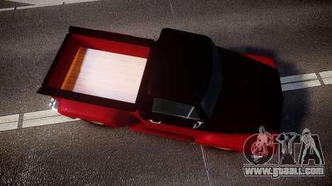 GTA V Vapid Slamvan for GTA 4 right view