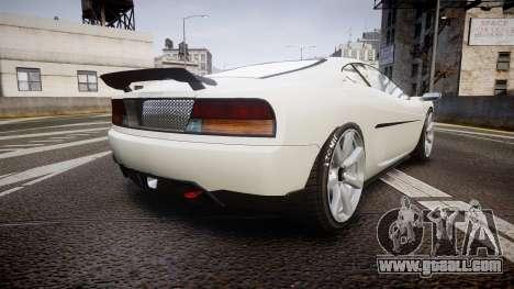 Grotti Turismo GT Carbon v2.0 for GTA 4 back left view