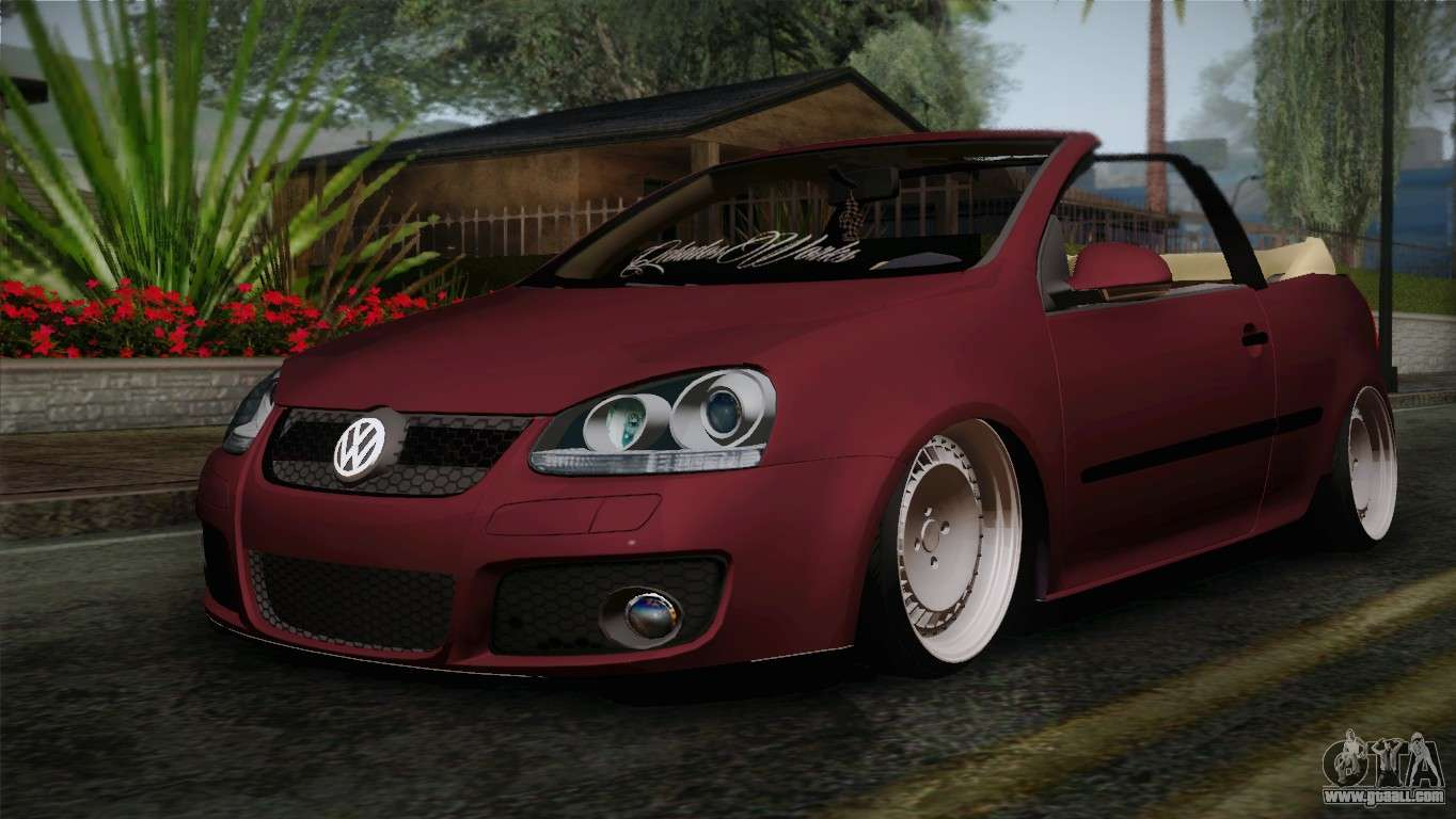 volkswagen golf 5 for gta san andreas. Black Bedroom Furniture Sets. Home Design Ideas