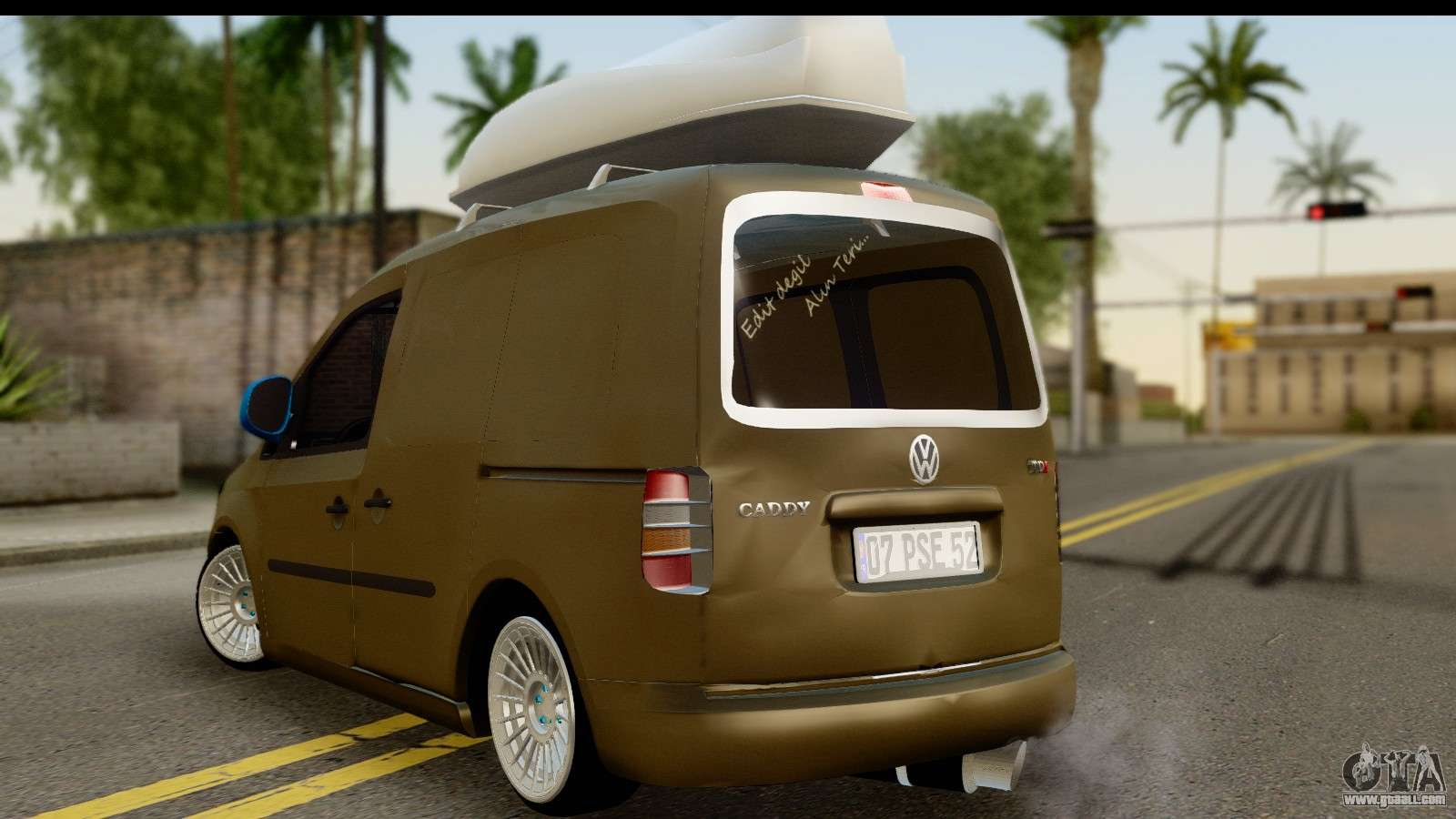 volkswagen caddy  gta san andreas