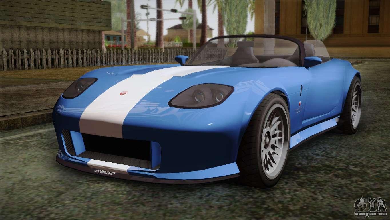 7 Passenger Vehicles >> GTA 5 Bravado Banshee for GTA San Andreas