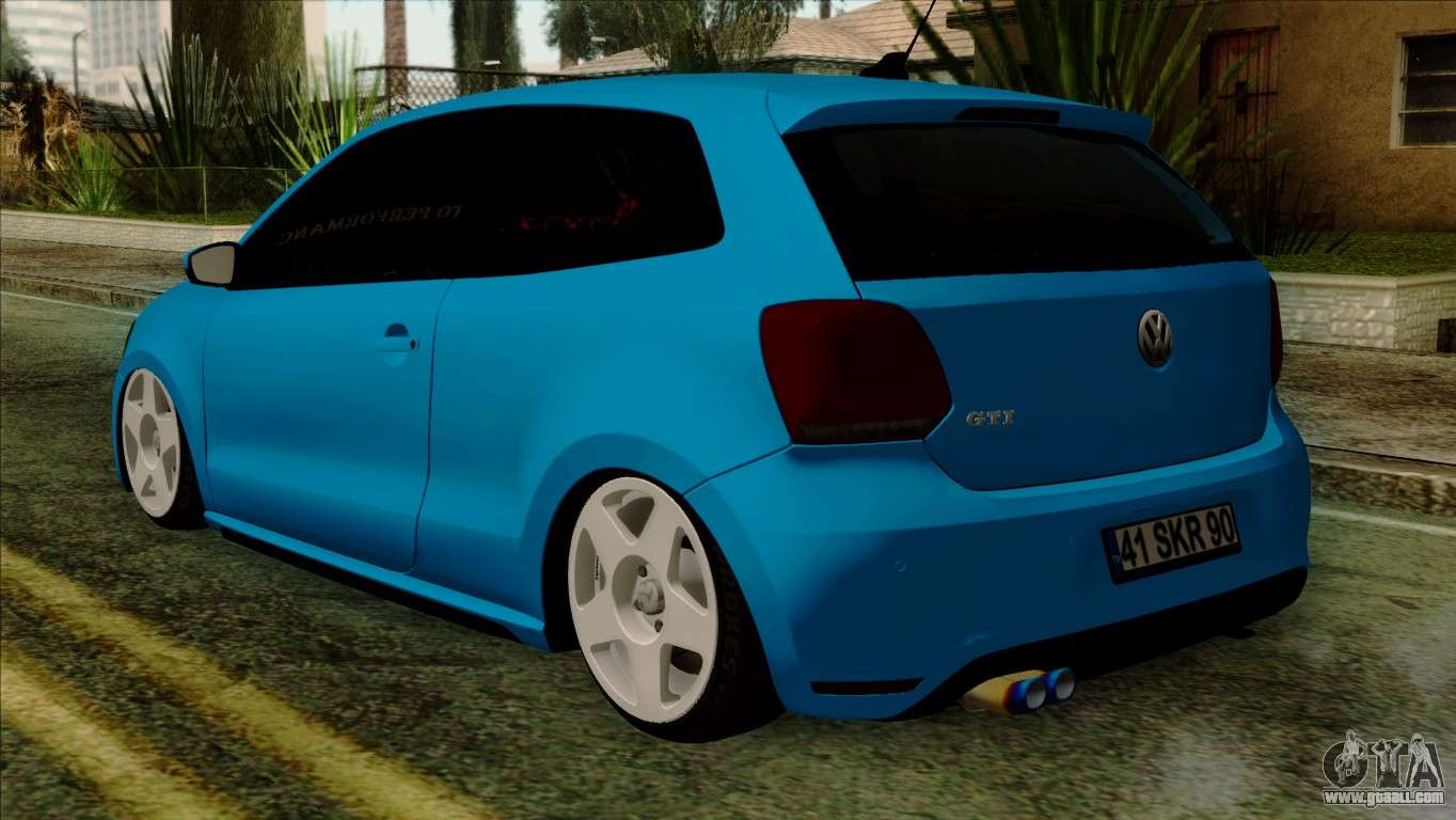 volkswagen polo gti 2014 for gta san andreas. Black Bedroom Furniture Sets. Home Design Ideas